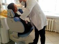 Стоматологический осмотр учащихся